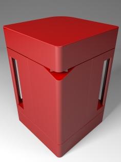 CubiKa rossa dietro