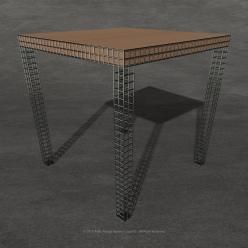 BarTable in legno